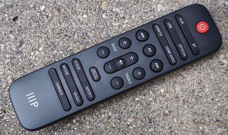 Monoprice SB-300 Soundbar Remote Control