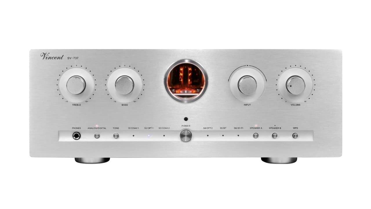 Vincent Audio SV-737 Integrated Amplifier Silver