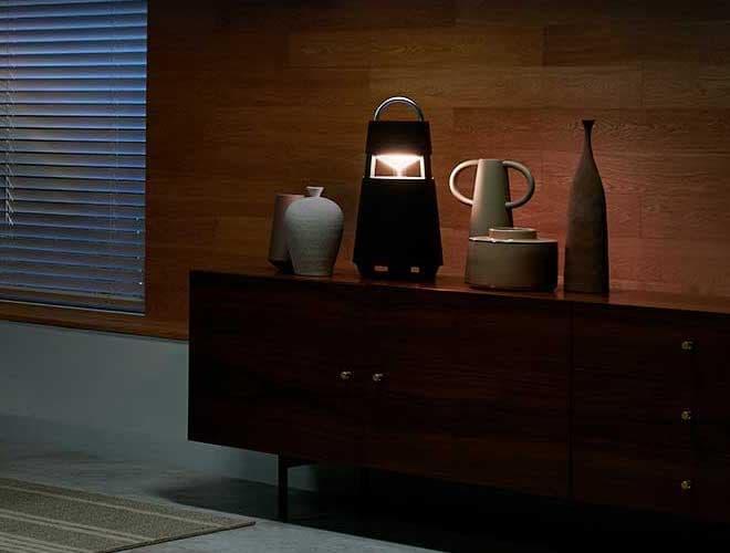 LG XBOOM 360 Wireless Speaker with Mood Light Lifestyle
