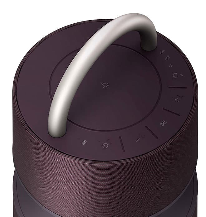 LG XBOOM 360 Wireless Speaker Top