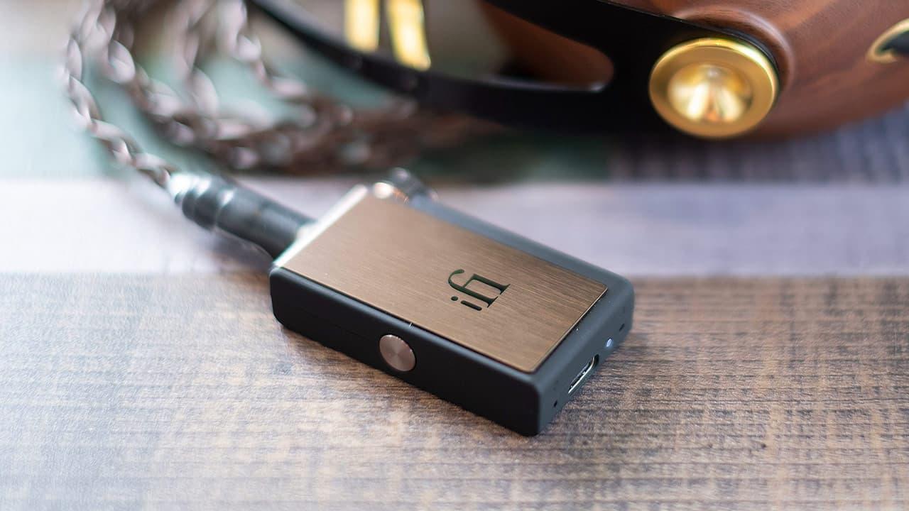 iFi Go Blu Portable DAC Headphone Amplifier