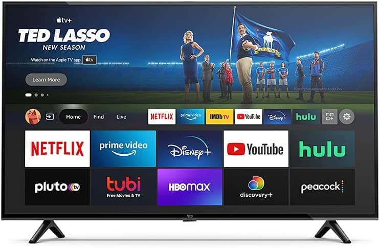 Amazon 4-Series 4K Fire TV Front