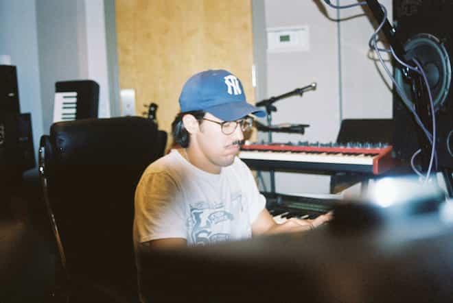 Luke Lasso in the studio