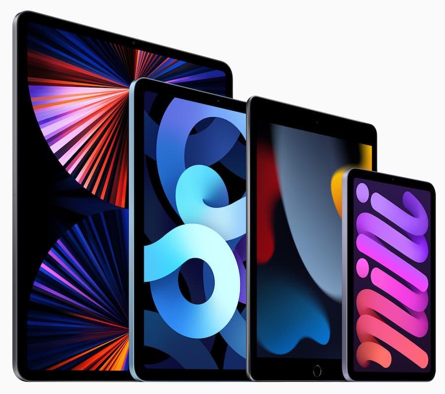 Apple iPad Family 2021