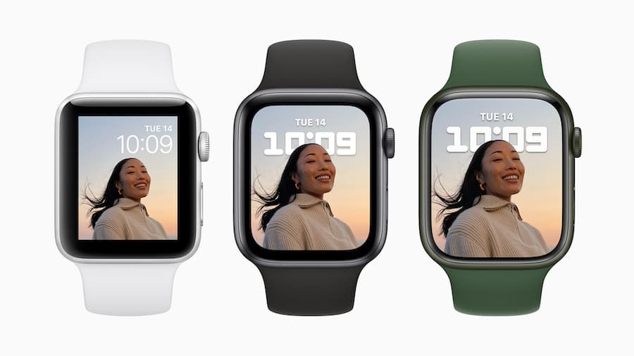 Apple Watch Series 3, 6, 7
