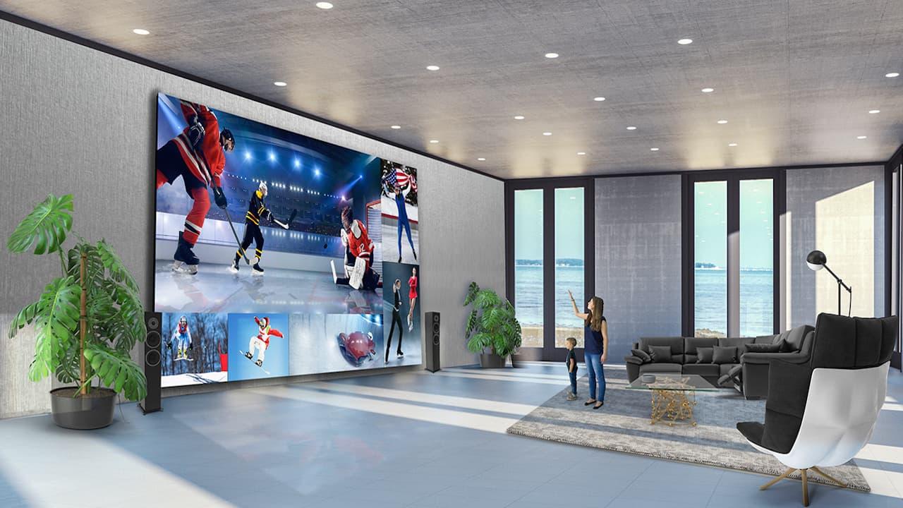LG DVLED 8K TV