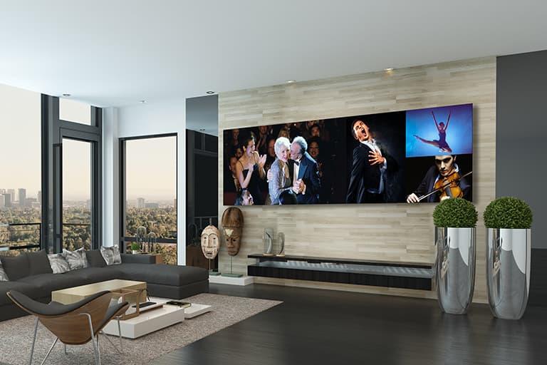 LG DVLED Dual 2K TVs