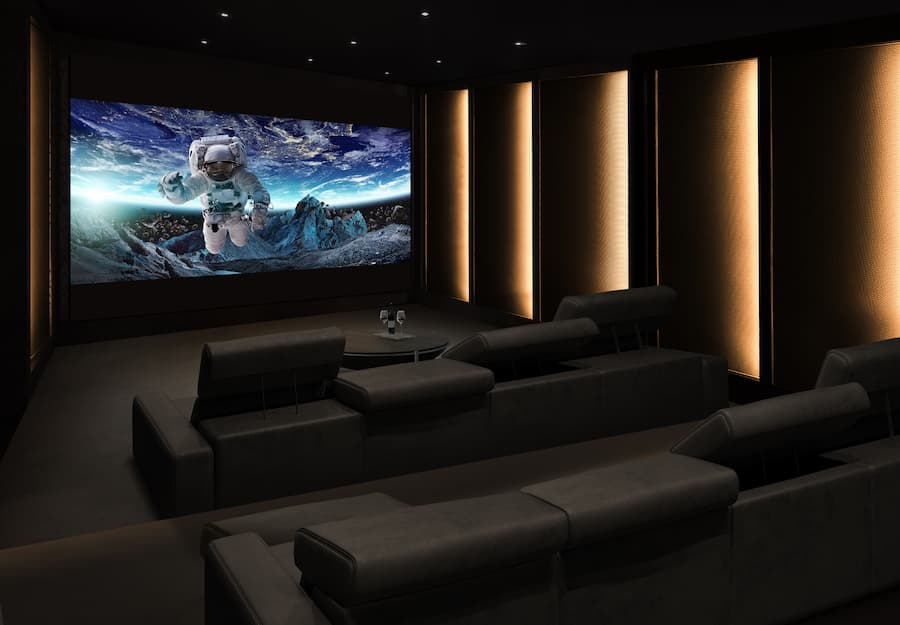 LG DVLED Home Cinema Lifestyle