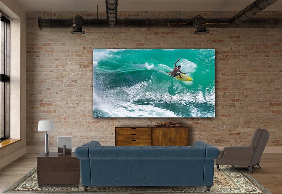 LG DVLED 4K TV Lifestyle