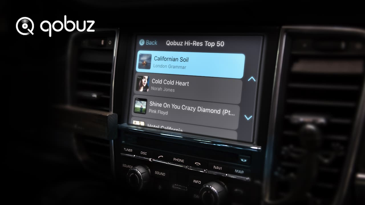 Qobuz Apple CarPlay Online