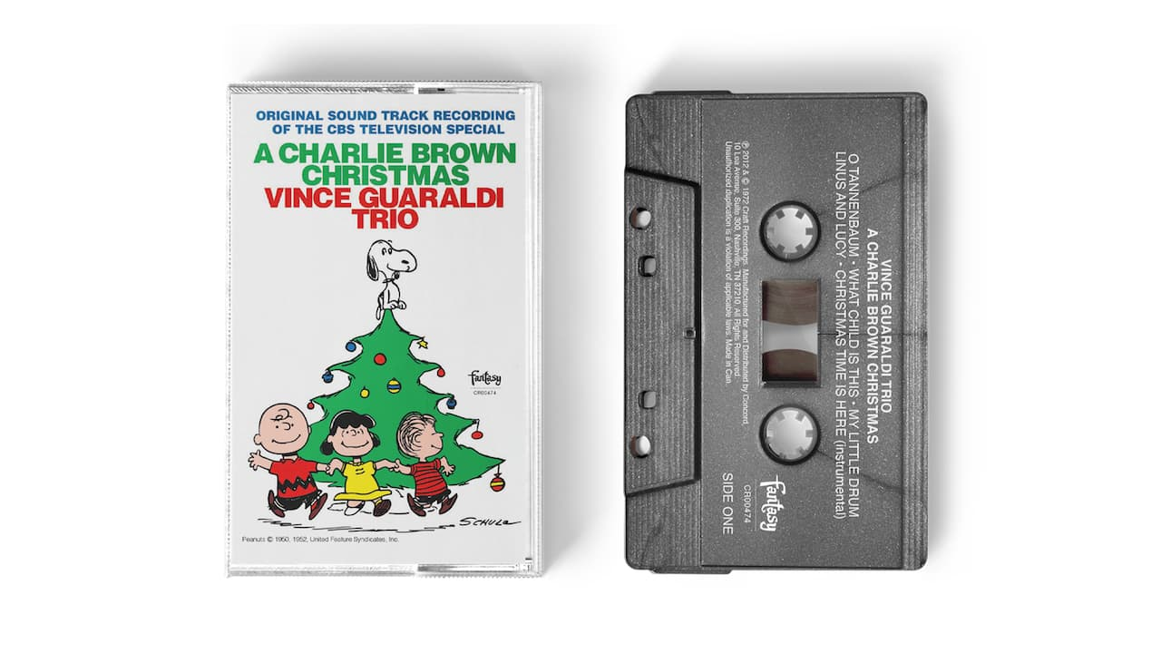 A Charlie Brown Christmas Silver Edition Cassette