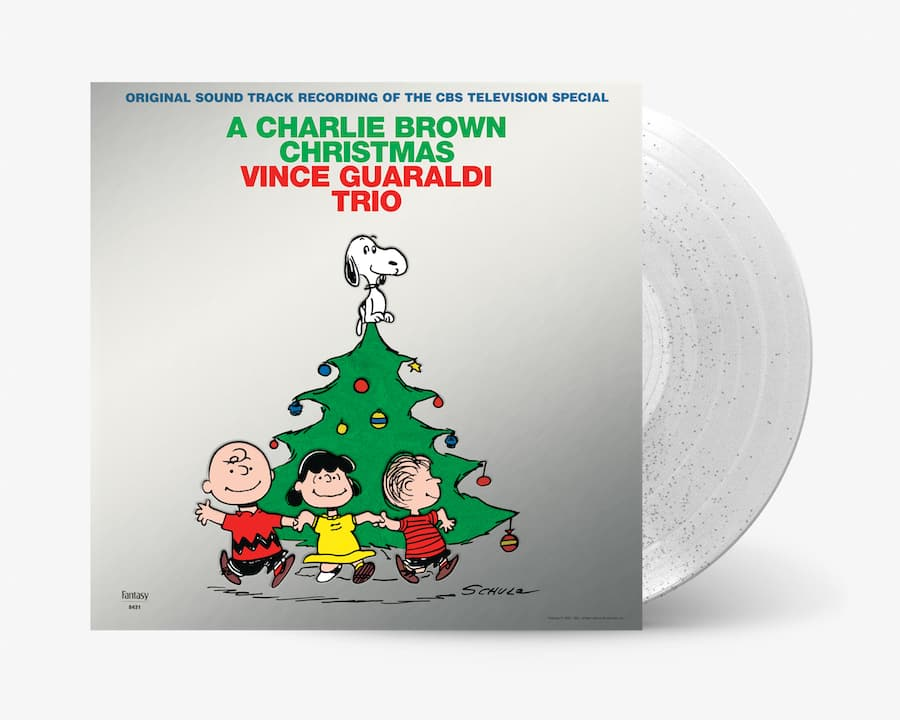 A Charlie Brown Christmas on Silver Vinyl