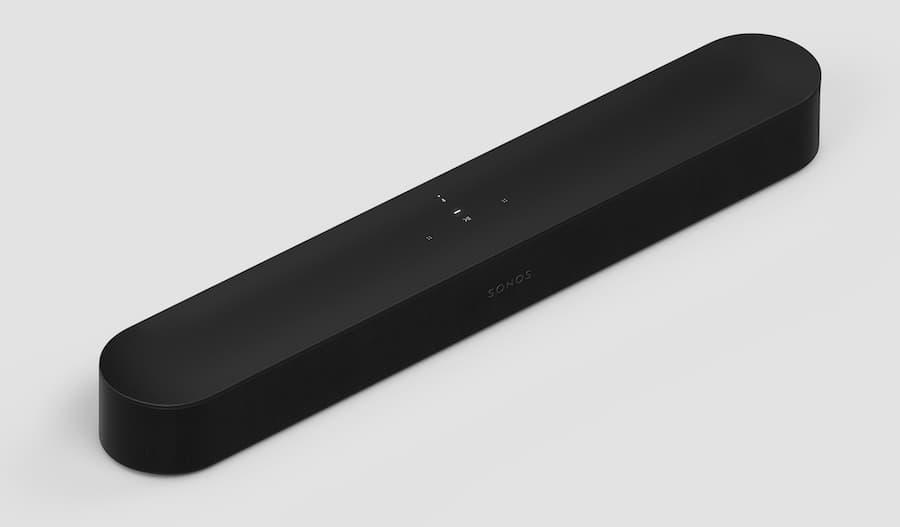 Sonos Beam 2 Soundbar Black Angle