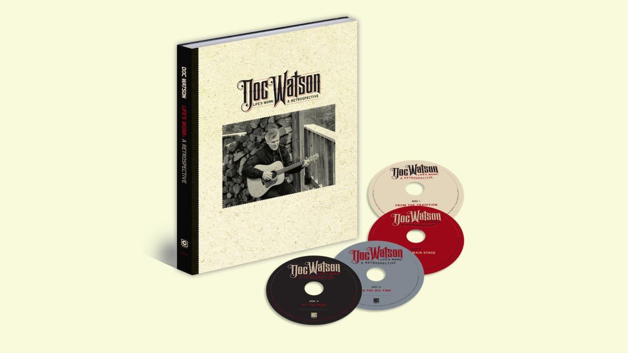 Doc Watson 4-CD Box Set Collection