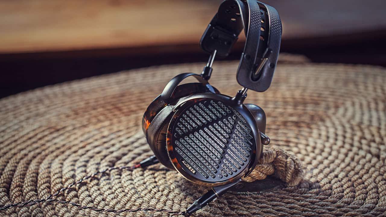 Audeze LCD-5 Headphones Lifestyle