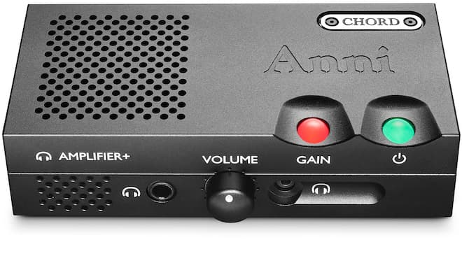Chord Anni Headphone Amplifier Front