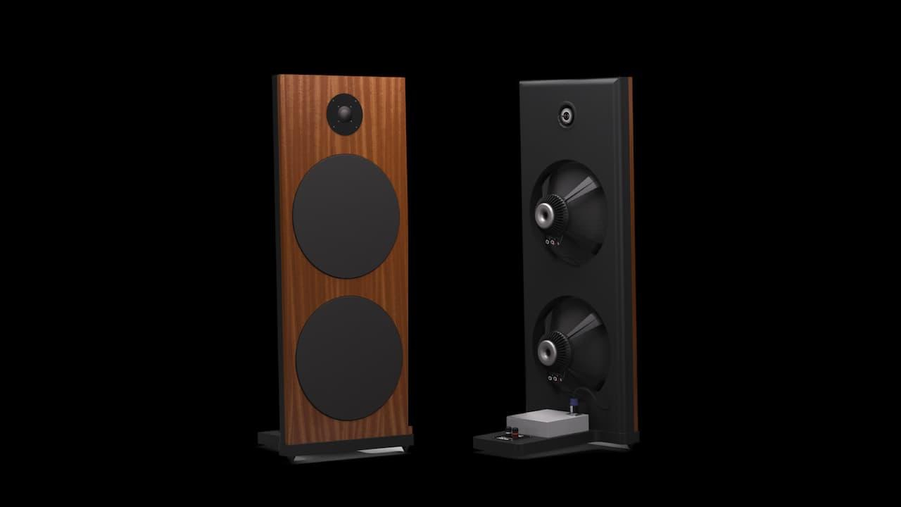 Spatial Audio M3 Sapphire Open-baffle Loudspeakers