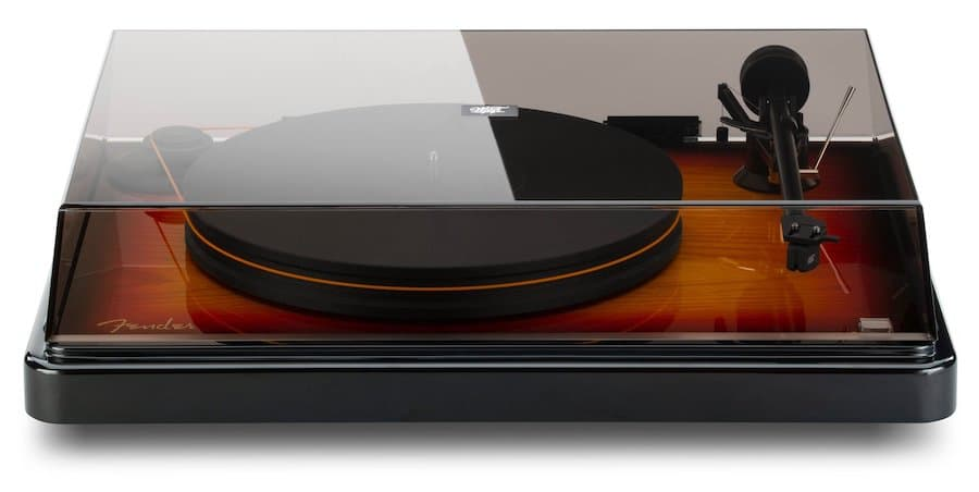 MoFi Fender PrecisionDeck Limited Edition Turntable with Cover