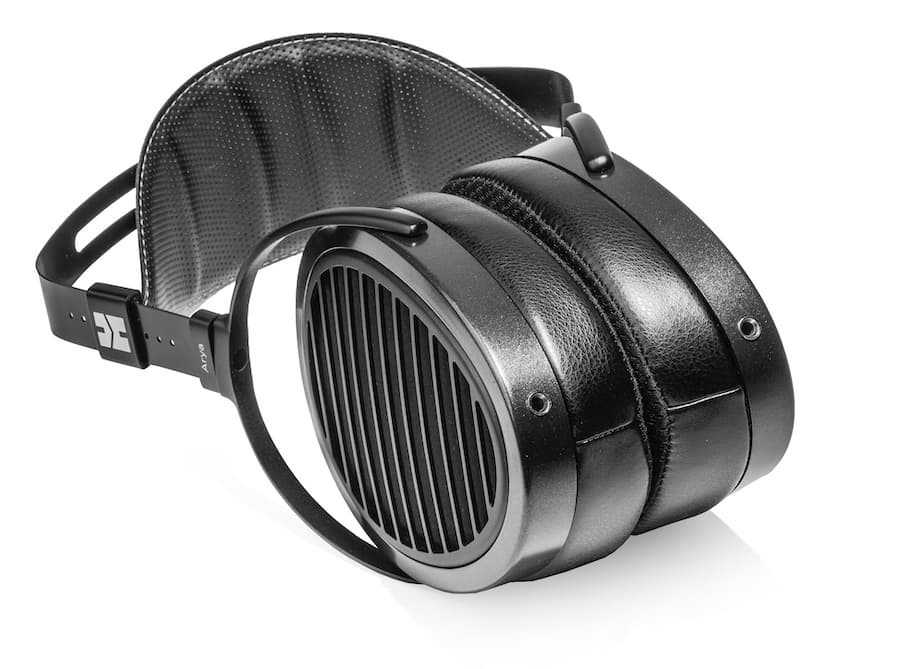 HiFiMAN Arya Planar-magnetic Open-back Headphones with Stealth Magnet Technology (2021 model) laying down