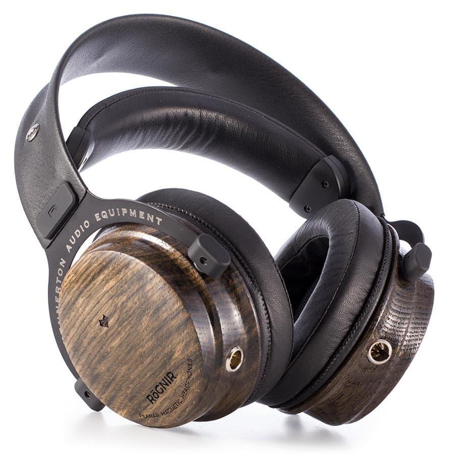 Kennerton Rognir Planar Magnetic Headphones in Bog Oak Wood Finish
