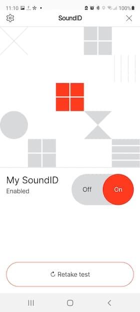 1More ColorBuds 2 SoundID App