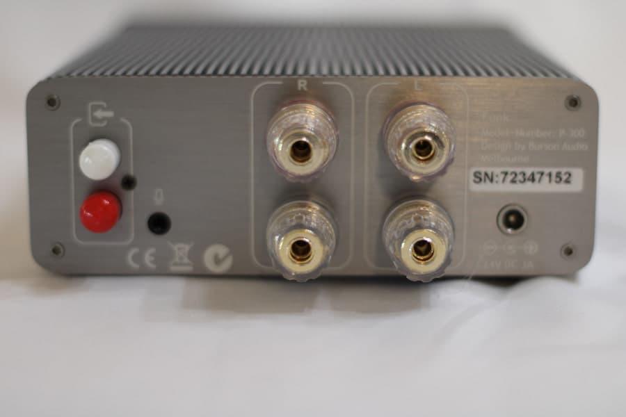 Burson Audio Funk Headphone Amp Rear