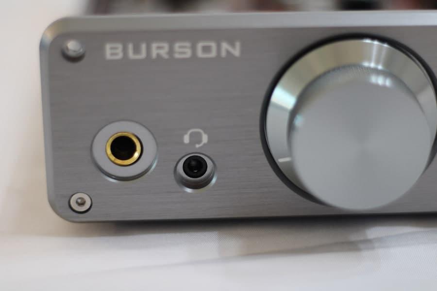 Burson Audio Funk Headphone Amplifier Input Jacks
