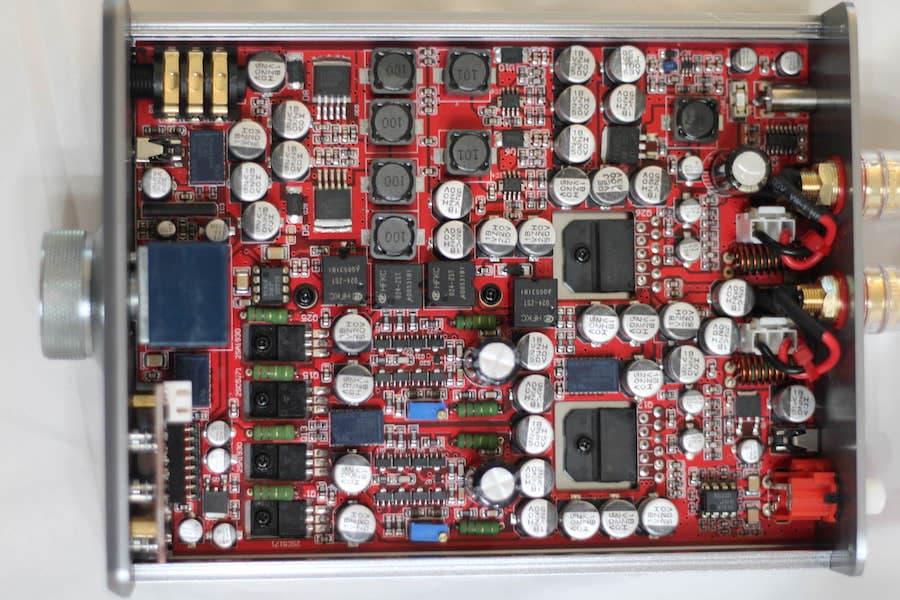 Burson Audio Funk Headphone Amplifier Internals