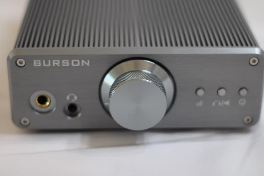 Burson Audio Funk Headphone Amplifier Front