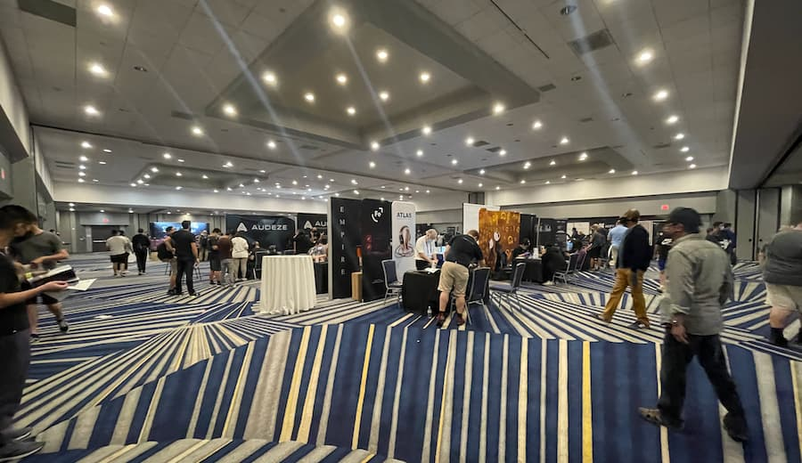 CanJam SoCal 2021 Show Floor Wide Angle