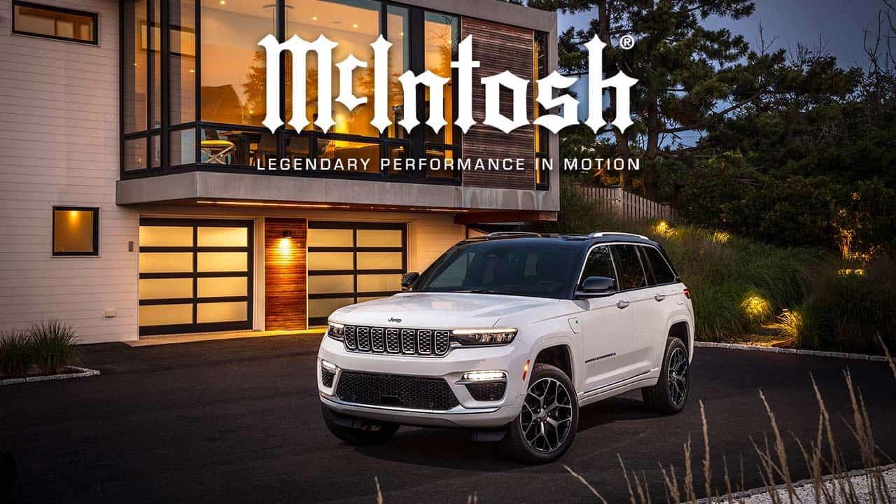 2022 Jeep Cherokee Summit Reserve with McIntosh MX950 Premium Car Audio Entertainment System