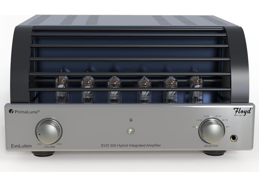 PrimaLuna EVO 300 Hybrid Integrated Amplifier Floyd Design Front