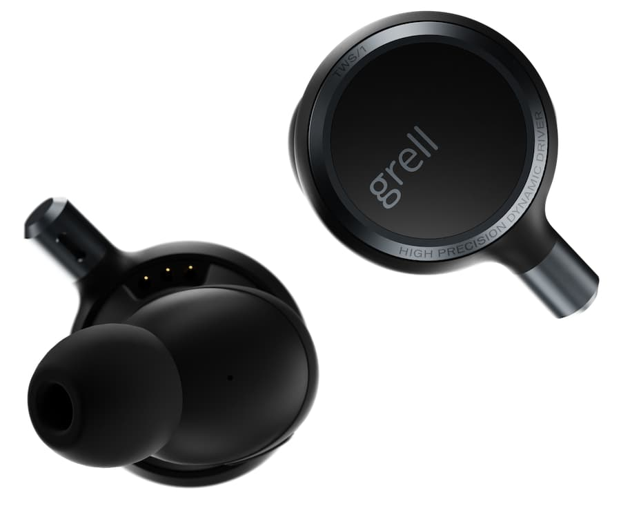 Grell Audio TWS/1 Wireless Earphones Inner and Outer Views