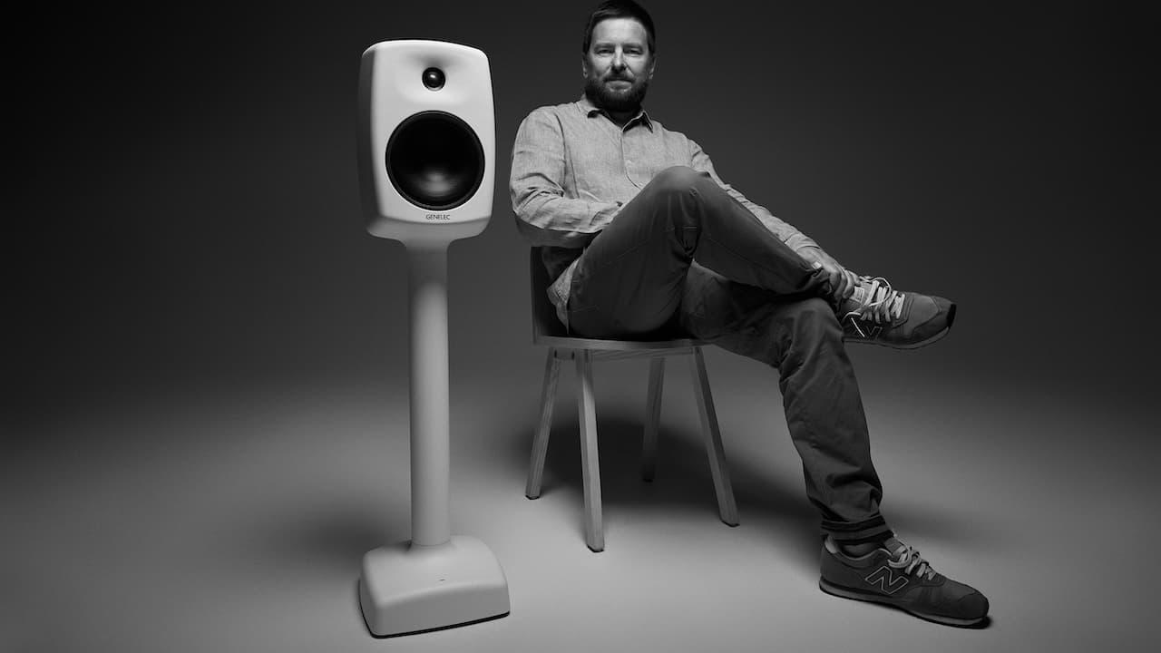 Harri Koskinen, Designer of 2021 Genelec 6040R Smart Active Loudspeaker in White