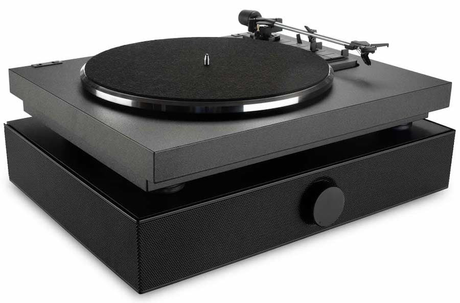 Andover Audio SpinDeck Max Turntable with SpinBase in Black