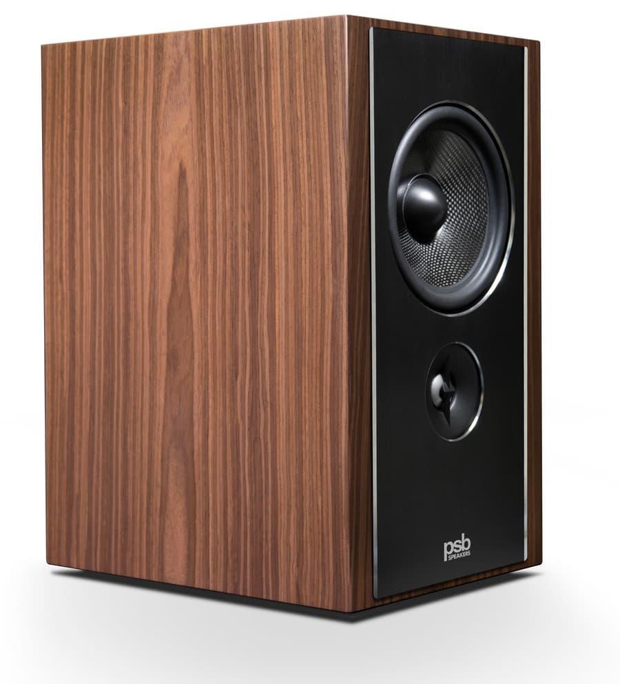 PSB Speakers B600 Bookshelf Loudspeaker Walnut
