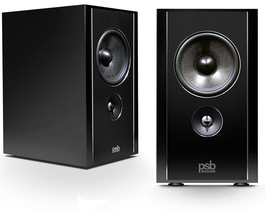 PSB Speakers B600 Bookshelf Speakers Black