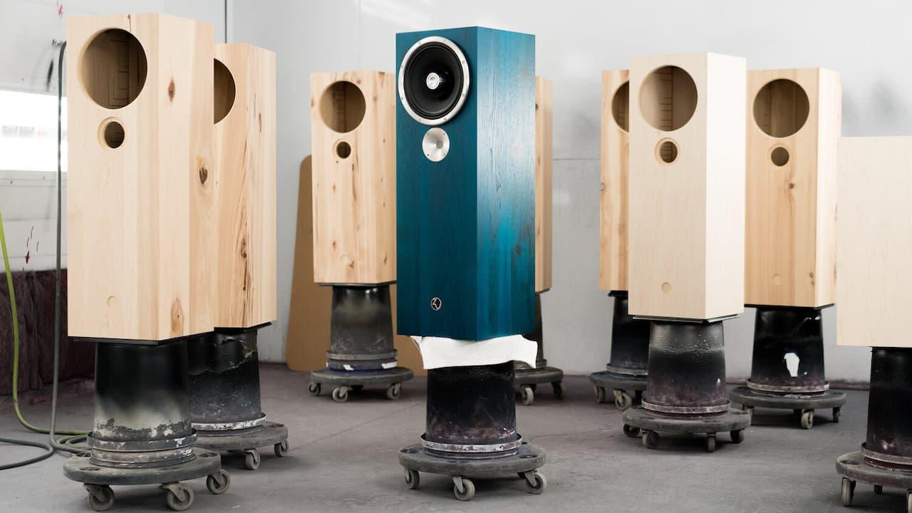 Zu Audio Omen Dirty Weekend Loudspeaker in Factory