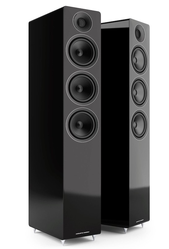 Acoustic Energy AE320 Floorstanding Loudspeakers Black