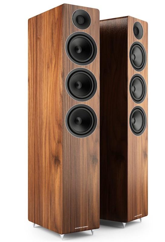 Acoustic Energy AE320 Floorstanding Loudspeakers Walnut