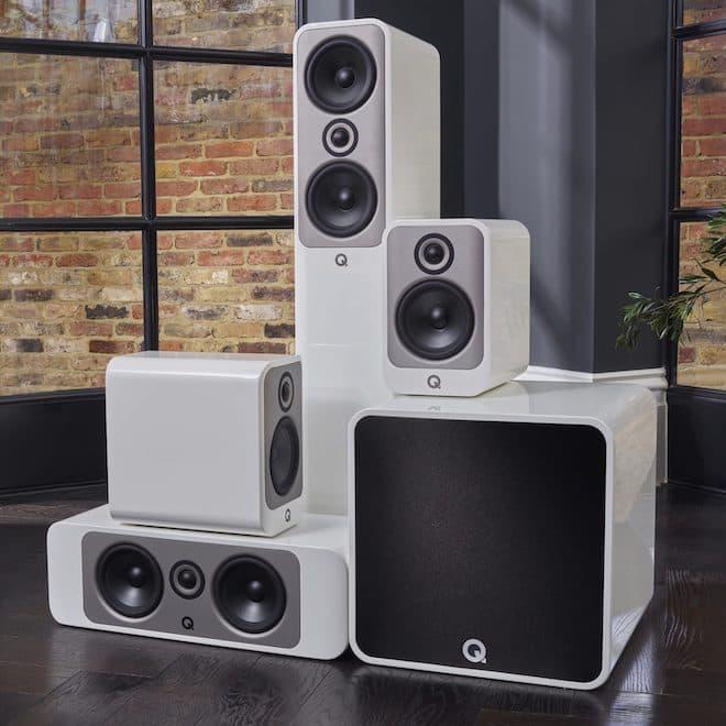 Q Acoustics Concept 90 Home Cinema Loudspeaker Group White