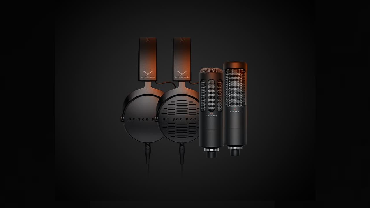 beyerdynamic Pro X Series Headphones and Microphones 2021