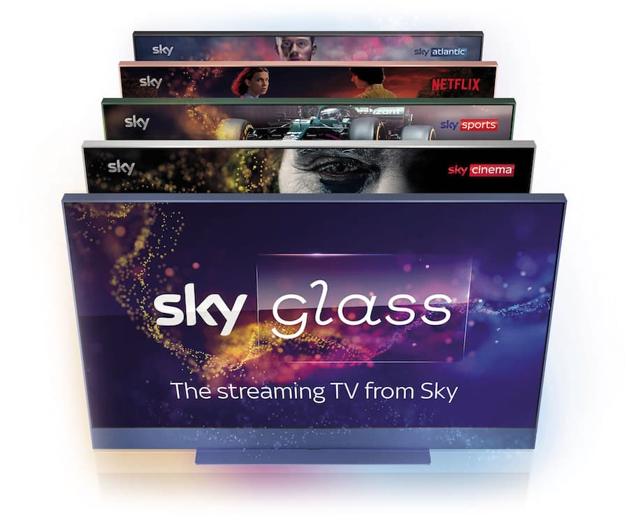Sky Glass 4K TV Color Collection