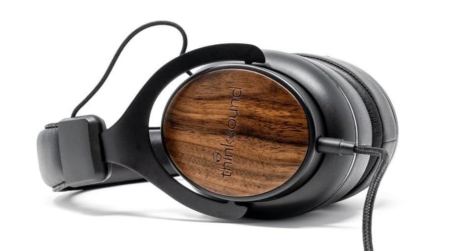 Thinksound ov1 Headphones on Side