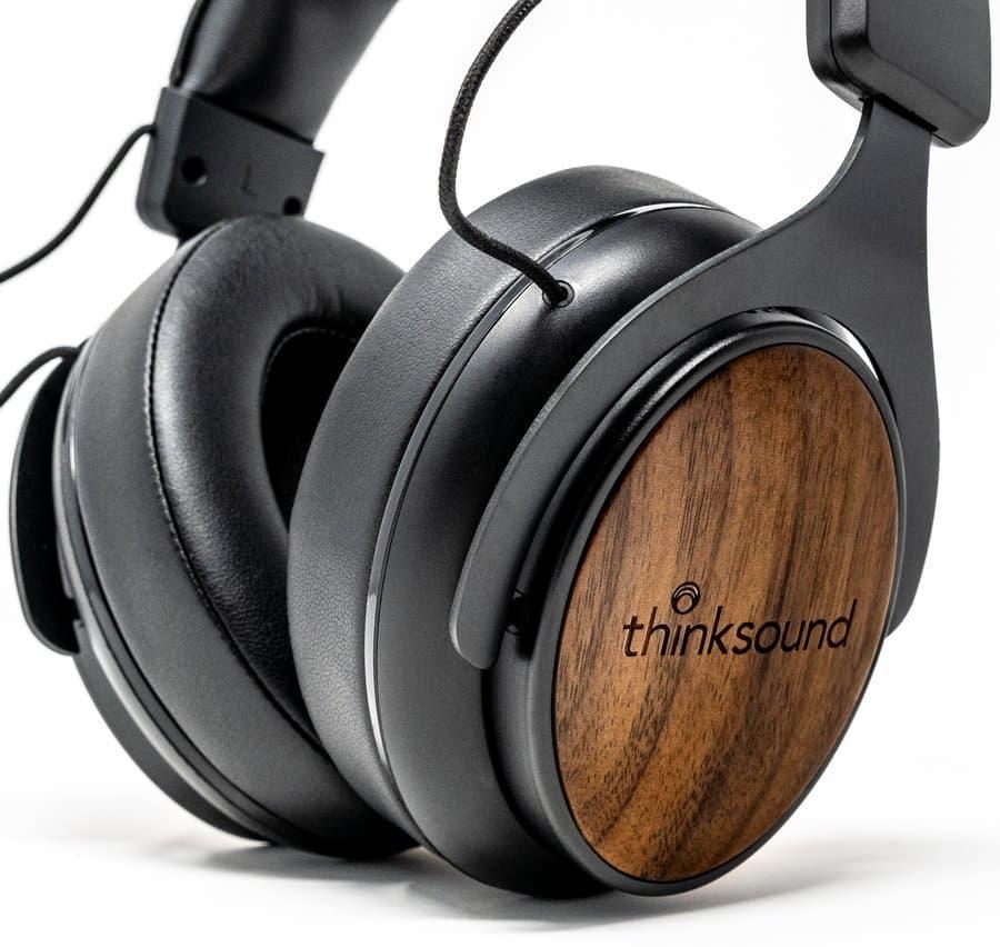 Thinksound ov1 Headphone Earcups Closeup