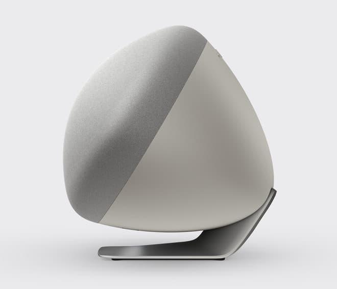 Bowers & Wilkins Zeppelin Wireless Speaker Pearl Grey Side