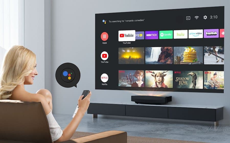 XGIMI Aura 4K UST Projector with Google Voice
