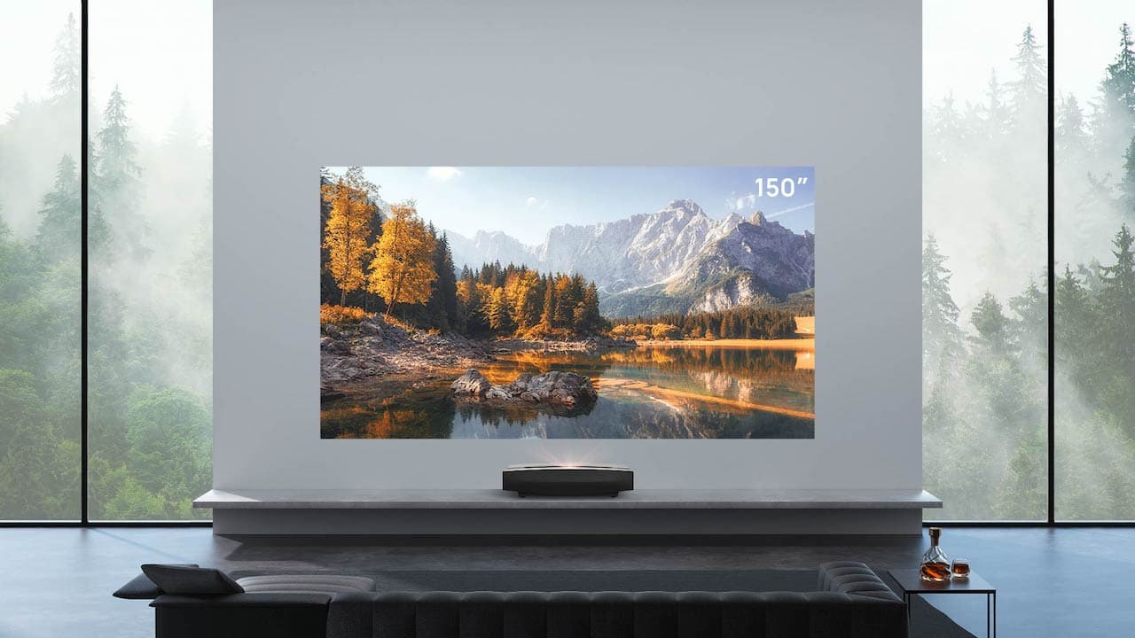 XGIMI Aura 4K UST Projector up to 150-inches