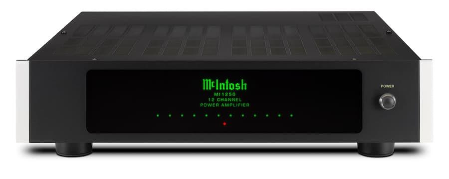 McIntosh MI1250 12-Channel Power Amplifier Top Front