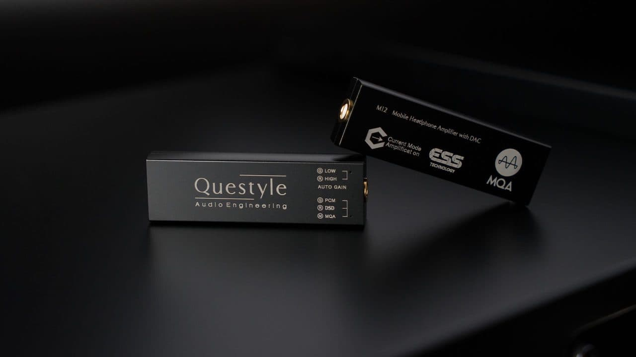 Questyle M12 Mobile Headphone Amplifier with DAC